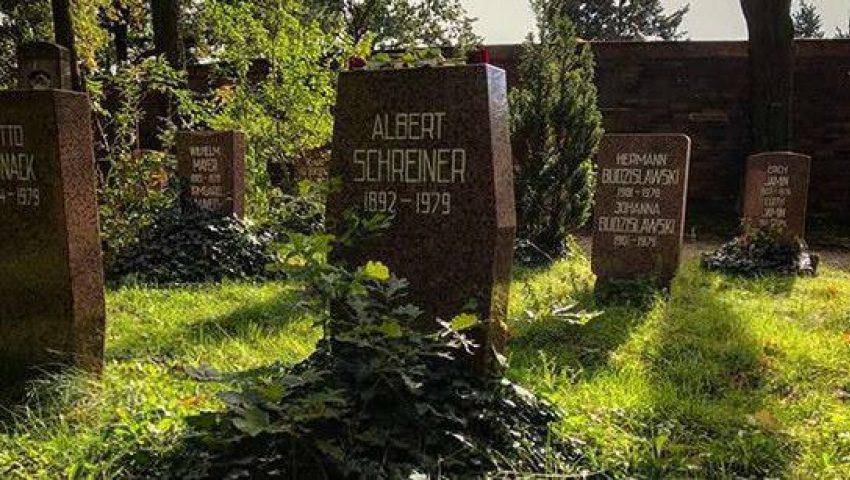 Albert's gravestone, Friedrichsfelde